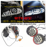 Adapter Wire For 2010 - 2015 Jaguar Xj Headlight Modify Xenon To Led With Afs