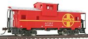 Walthers-wide Vision Caboose - Ready To Run -- Atchison Topeka And Santa Fe - Ho