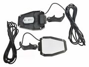 Modquad Side-pro-rgb Mirror With Led Lights Fits Pro Fit Rollcage Pair