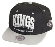 Mitchell And Ness - Casquette Snapback - Los Angeles Kings - Triple Arch