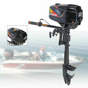 Hangkai 2 Stroke 3.6hp Outboard Motor Boat Engine W/ Water Cooling Cdi System Us