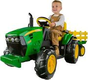 Ride On Tractor Toy Kids Children Riding Battery Operated Toys For Boys Girls