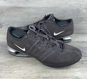 Nike Shox Low Womens Shoes 316566-221 Athletic Running Sneakers Size 8.5 Brown