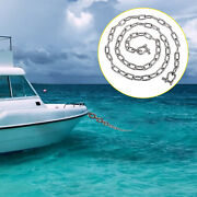 Vevor Boat Anchor Chain 316 Stainless Steel Chain 6 Ft 5/16 In Shackles For Boat