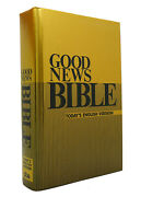 American Bible Society Good News Bible Today's English Version 1st Edition 1st P