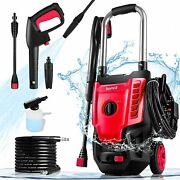 3500psi 2.8gpm 1800w All-in-one Upgraded Nozzle Electric Pressure Washer Us