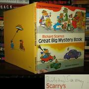 Richard Scarry Richard Scarryand039s Great Big Mystery Book Signed 1st 1st Edition 1s