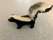 Vintage Steiff Skunk 1950andrsquos Antique 7 Glass Eyes Made In Germany