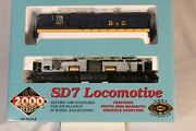 Ch Proto 2000 Life-like 30140 Sd7 Baltimore And Ohio 1827 Dcc Ready Ho Scale