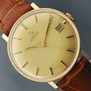 [oh Done] Omega 1960and039s Antique Wristwatch Hand-wound Elegant Vintage Menand039s C 27