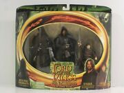 N Lord Of The Rings Fellowship Of The Ring Toy Biz Witch King Strider Frodo