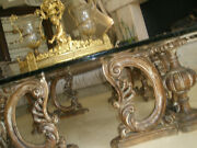 Amazing Rare Large 67 X 67 Antique Carved Coffee Cocktail Center Square Table