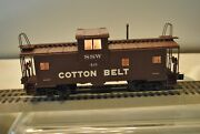 Atlas 0703-1 Cotton Belt Extended Vision Caboose Rd40 3rail W/ Lighted Interior
