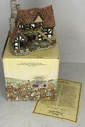 David Winter The Bothy Cottages Hand Made Painted John Hine Britain 1983