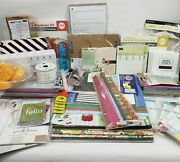 Stampin' Up We R Martha Stewart And More Craft Lot Paper Ink Stamps Card Stock
