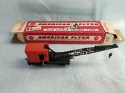 Gilbert / American Flyer Ho 33548 Crane - Ex+ W/ Hard To Find Red And White Box