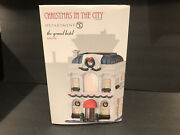 Department 56 Christmas In The City. The Grand Hotel 4044790 Brand New Rare
