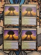 4x Temple Of Mystery - Nm/lp Theros Mtg Magic The Gathering