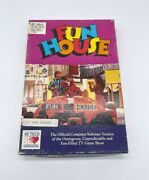 Vintage Fun House 1989 Apple Commodore 64/ibm - 3.5 Floppy Disk - Not Tested