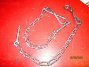 1954-87 Chevy And Gmc Truck Bed Stepside Tailgate Chains