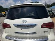 2016 Infiniti Qx80 Oem Liftgate Hatch Assembly Pearl White