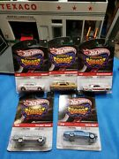 Hot Wheels 2010 Larry's Garage Lot Of 5 Real Riders Beautiful Very Nice Cars 🚗