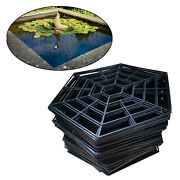 20 Pcs Plastic Fish Guard Grid Protective Cover Guard Netting Pond Protector