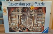 New Sealed 99 Ravensburger 5000 Pc Puzzle Giovanni Paolo Panini View Modern Rome