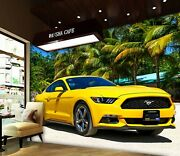 3d Ford Mustang A582 Transport Wallpaper Mural Self-adhesive Removable Amy