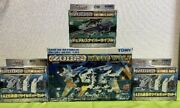 Extremely Rare Zoids Rz053 Konig Wolf And 3 Customize Parts F/s From Japan