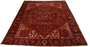 Heriz 375x303 Cm Excellent Oriental Rug Hand-knotted Red