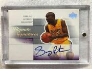 Top-of-the-line Direct Writing Golve Auto 03-04 Upper Deck Ultimate Gary Payton
