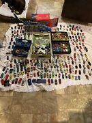 Mixed Lot Of 290 Hot Wheels+matchbox And Other Loose Cars And Truck+ Play City+cases