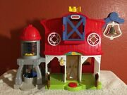 Fisher-price Mattel 2016 Little People Barn Farm Playset With Sound