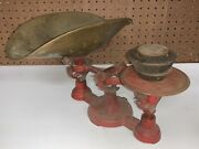 Antique Cast John Chatillon And Sons General Store Counter Balance Scale