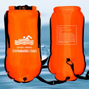Waterproof Swimming Bag Inflated Double Airbag Storage Bags Dry Sack For Swimmer