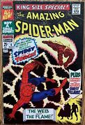 King-size Special The Amazing Spider-man Comic Marvel1967 4 Silver Age