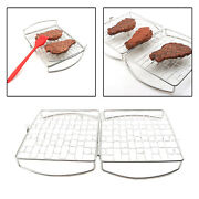 Barbecue Grilling Basket Grill Bbq Net Steak Meat Fish Vegetable Grill Nets