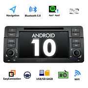 Plugandplay Android 10 7 Lcd Car Stereo Gps Dvd Cd Radio Touchscreen For Bmw E46
