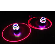Novel Flash Led Spinning Colorful Top Peg-top With Music Song Outdoor Game