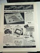 Willoughbys Camera Store / Nyi School Of Photography Original Vtg 1943 Ad,