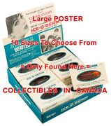 The Beatles 1960's Ice-o-derm Soap = Poster Counter Display 10 Sizes 14 - 4 Ft