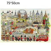 Puzzle Personalized Puzzles Kids London Style Xmas Gift Learning Jigsaw Toys New