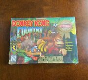 Donkey Kong Country Snes Super Nintendo Entertainment System 1994 New Sealed