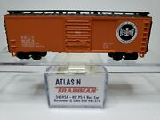 N Scale Atlas 34595a - 40' Ps-1 Boxcar Bessemer And Lake Erie 81370.