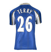 John Terry Signed Chelsea Shirt - Retro Number 26 Autograph Jersey