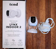 Tend Secure Lynx Indoor 2 Plug-in Indoor White Security Camera Wi-fi