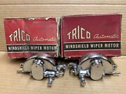 Rare 1932 1933 1934 Packard Nos Chrome 8and12 Convertible Wiper Motors