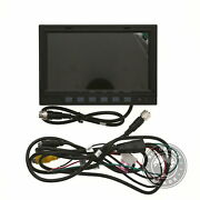 Used Autopal Wired Monitor Rear View Backup Camera System For Farm Tractor - 7