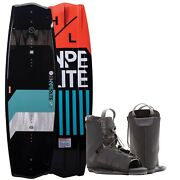Hyperlite 135 State 2.0 Wakeboard Package W/ Remix 7-10.5 Boots Bindings